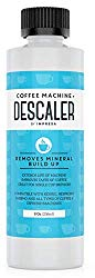 Descaler (2 Uses Per Bottle) – Made in the USA – Universal Descaling Solution for Keurig, Nespresso, Delonghi and All Single Use Coffee and Espresso Machines