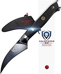 DALSTRONG Bird's Beak Paring Peeling Tourne Knife – Shogun Series – Japanese AUS-10V – Vacuum Heat Treated – 3″ Peeler – Guard