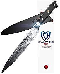 DALSTRONG Serrated Utility Knife – Shogun Series X – Petty – VG10-6″ – Sheath