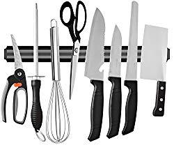 Ouddy 22 Inch Magnetic Knife Bar, Magnetic Knife Storage Strip, Magnetic Kitchen Knife Holder, Knife Rack Strip