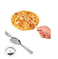 The pizza knife and fork