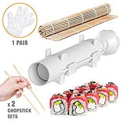 Sushi Bazooka – Sushi Making Kit – Sushi Maker – Sushi set – Sushi Maker Machine – Sushi gift set – Bazooka Sushi – Japanese Sushi Making Kit – Sushezi roller Prepare Sushi at Home