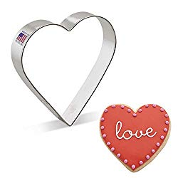 Ann Clark Cookie Cutters Extra Large Heart Cookie Cutter, 5″