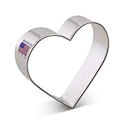Ann Clark Cookie Cutters Heart Cookie Cutter, 3.25″