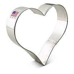 Ann Clark Cookie Cutters Heart Cookie Cutter, 4″