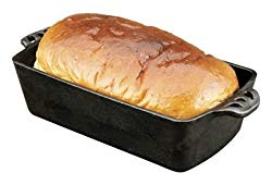 Camp Chef Home Seasoned Cast Iron Bread Pan