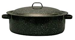 Granite Ware 0615-4 Covered Casserole, 5-Quart, Black