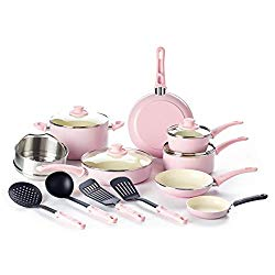 GreenLife CC002377-001 Grip Set, 16-Piece, Soft Pink