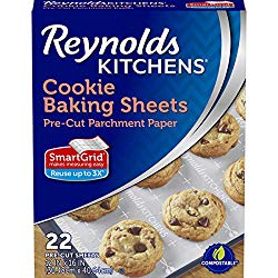 Reynolds Kitchens Cookie Baking Sheets with SmartGrid, 12×16 Inch, 22 Total