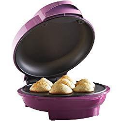 Brentwood TS-252 Mini Cupcake Maker Machine Non-Stick, 7, Pink